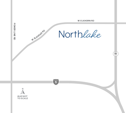 northlake drive map
